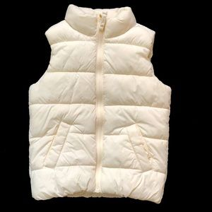 Old Navy Girls' Puffer Vest - size XS (4/5)
